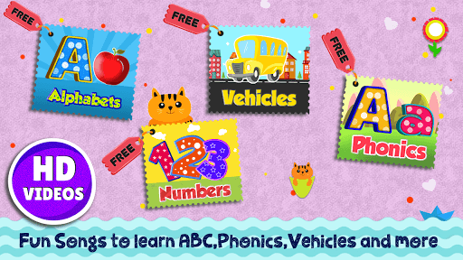 Kids Preschool Learning Songs & Offline Videos APK screenshot 2