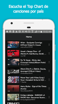 Vider: Youtube music player APK : Download v1 0 5 for Android at