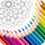 Color Mandala Book -  Mandala Coloring Art APK icon