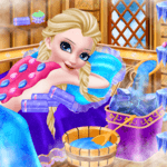 Icy Queen Spa Makeup Party APK icon