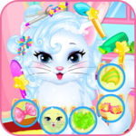 Baby kitty hair salon APK icon
