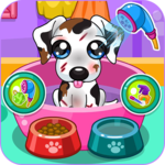 Caring for puppy salon APK icon