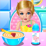 Baby Girl Day Care APK icon