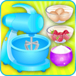 cooking games cake berries APK icon