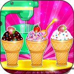 Cooking Ice Cream Cone Cupcake APK icon