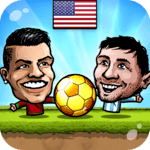 ⚽Puppet Soccer 2014 - Big Head Football 🏆 APK icon