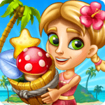 Tropic Trouble Match 3 Builder APK icon