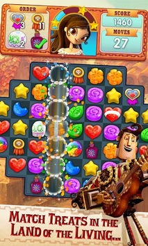 Sugar Smash: Book of Life - Free Match 3 Games. APK screenshot 1