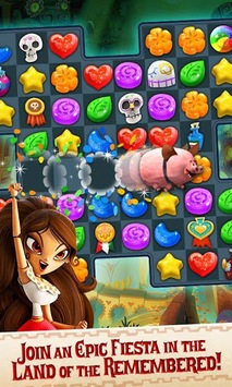 Sugar Smash: Book of Life - Free Match 3 Games. APK screenshot 2
