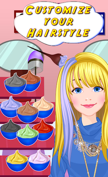 Hair Salon - Fancy Girl Games APK screenshot 2