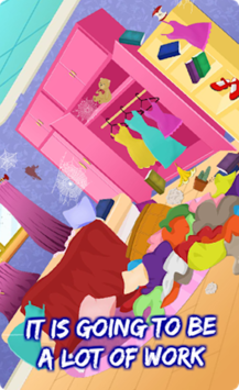 Messy House - Bedroom Cleaning APK screenshot 2