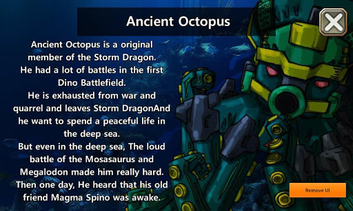 Dino Robot - Ancient Octopus APK : Download v1 0 2 for