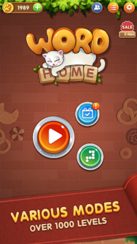 Word Home™ - Cat Puzzle Game, Merry Christmas! APK screenshot 2