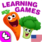 FUNNY FOOD 2! Educational Games for Kids Toddlers! APK icon