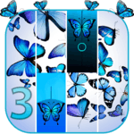 Blue Butterfly Piano Tiles 2019 APK icon