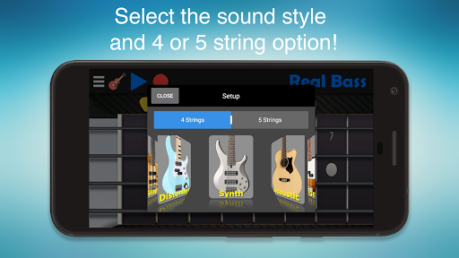 Real Bass - Playing bass made easy APK : Download v6 0 for Android