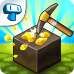 Mine Quest - Crafting and Battle Dungeon RPG APK icon