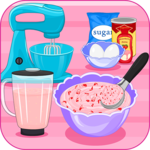 Strawberry Ice Cream Sandwich APK icon