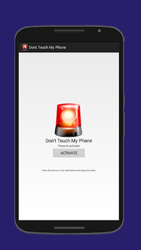 Don't Touch My Phone - Anti Theft Alarm Pro APK : Download