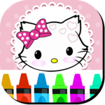 Kitty Coloring Book for Cats APK icon