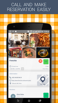 Best Restaurants APK screenshot 3