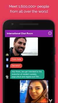 Anonymous Chat Rooms App to Meet New People Online APK screenshot 2