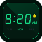Digital Alarm Clock - Bedside Clock, Stopwatch APK icon
