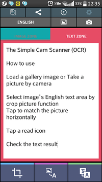 The Simple Text Scanner (OCR) APK : Download v52 for Android at
