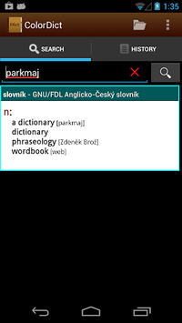 English Chinese Dictionary 辞典 APK : Download v1 0 4 for