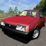 Russian Car Driver HD APK icon