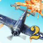 AirAttack 2 - WW2 Airplanes Shooter APK icon
