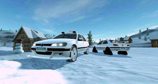 Off-Road Winter Edition 4x4 APK screenshot 1