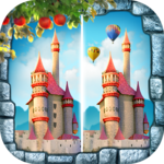 Find The Differences Games - Fairy Tales Games APK icon