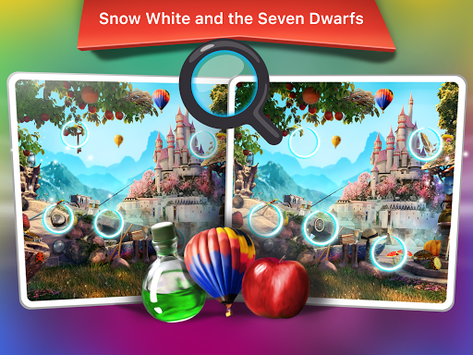 Find The Differences Games - Fairy Tales Games APK screenshot 3