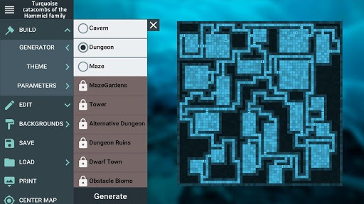 ProDnD Tabletop Game Manager and Dungeon Generator APK