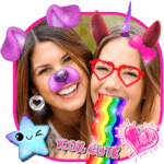 Snappy Photo Editor Stickers - Filters for Selfies APK icon
