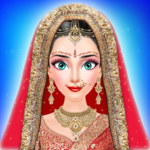 Royal Indian Girl Fashion Salon For Wedding APK icon