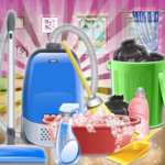 Sweet Girls House Cleaning  - My Home Cleanup Game APK