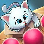 Kitty Snatch - Match 3 ft. Cats of Instagram game APK icon