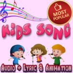 Popular Kids Song Free and Offine - English APK icon