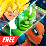 Superheroes Fighting Games Shadow Battle APK icon