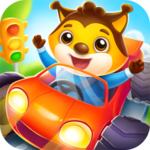 Car game for toddlers - kids racing cars games APK icon