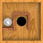 Roll Balls into a hole APK