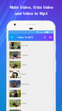 Video to Mp3 : Mute Video /Trim Video/Cut Video APK screenshot 2