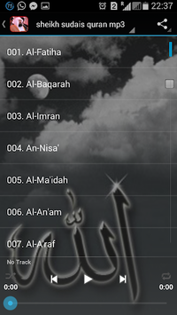 sheikh sudais quran mp3 APK : Download v1 0 for Android at