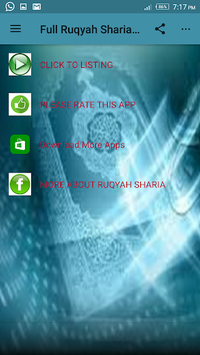 Full Ruqyah Sharia mp3 offline APK : Download v3 0 for Android at