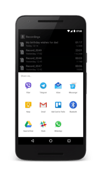 Smart Recorder – High-quality voice recorder APK screenshot 3