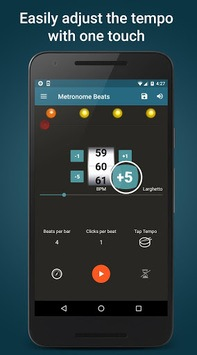 Metronome Beats APK screenshot 2