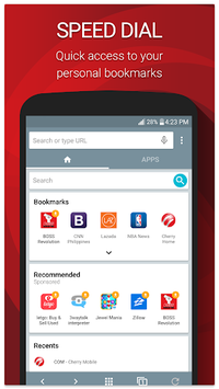 Cherry Mobile Browser APK : Download v2 4 4 3125 for Android at