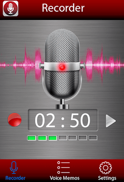 Voice recorder APK screenshot 1